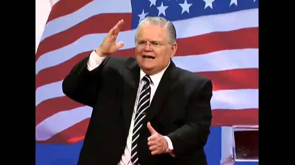 The End Of America   John Hagee -The Rejection of Israel ...