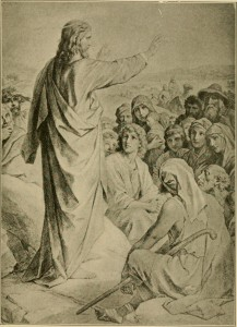 """Author: Internet Archive Book Images Author URL: https://www.flickr.com/people/internetarchivebookimages/ Title: Image from page 52 of """"The life on earth of our Blessed Lord : told in rhyme,"""