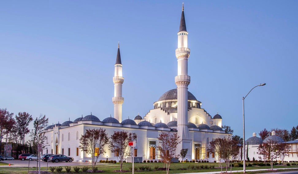 How $100m Muslim centre is building bridges in the US amid Islamophobic climate