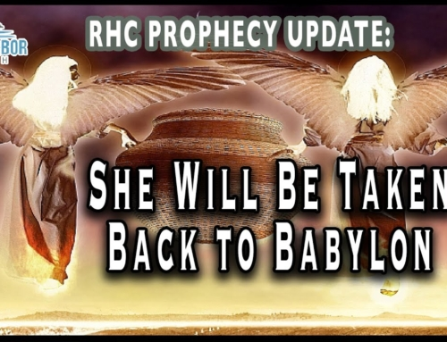 Prophecy Update: She Will Be Taken Back to Babylon