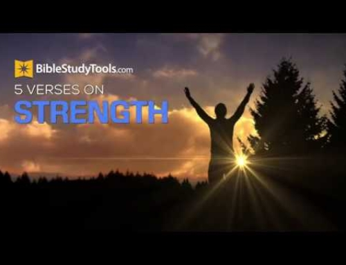 5 Bible Verses for Strength To Keep Going