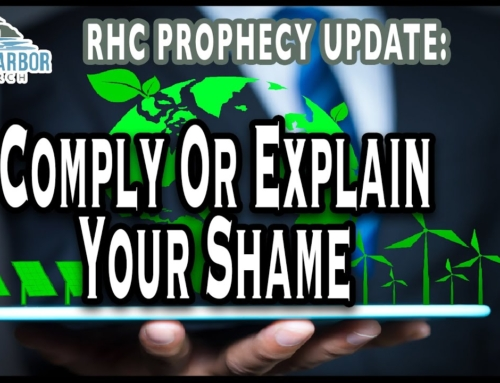 Comply or Explain Your Shame