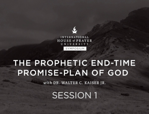 The Prophetic End-Time Promise-Plan of God
